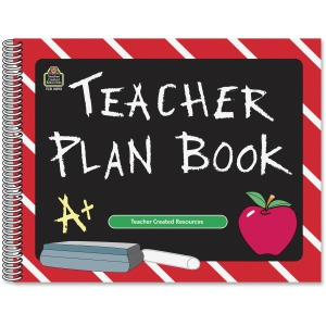 Teacher Created Resources Chalkboard Teacher Plan Book