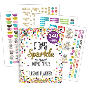 Teacher Created Resources Confetti Lesson Planner
