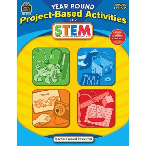 Teacher Created Resources PreK Project-based STEM Book Education Printed Book for Science/Technology/Engineering/Mathematics