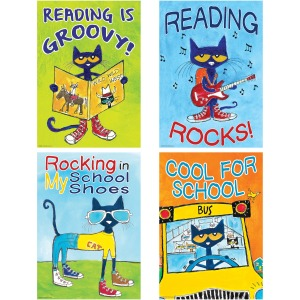 Teacher Created Resources Pete the Cat Posters Set