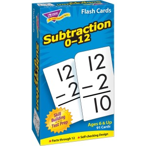 Trend Math Flash Cards