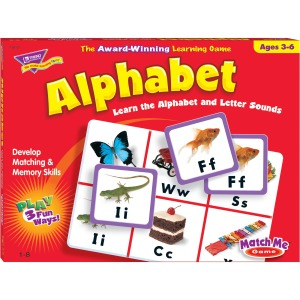 Trend Match Me Alphabet Learning Game