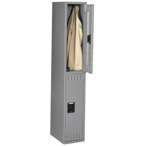 Tennsco Double-Tier Steel Lockers