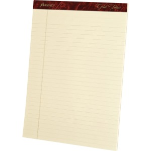 Ampad Gold Fibre Legal Rule Retro Writing Pads