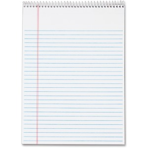 TOPS Docket Wirebound Legal Writing Pads - Letter