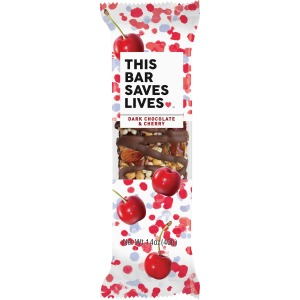 This Bar Saves Lives Dark Chocolate & Cherry Snack