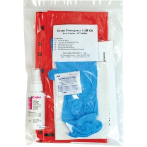 Unimed-Midwest Unimed Econo Emergency Spill Kit