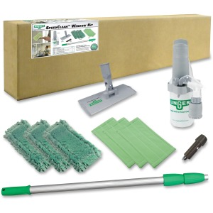 Unger SpeedClean Window Kit