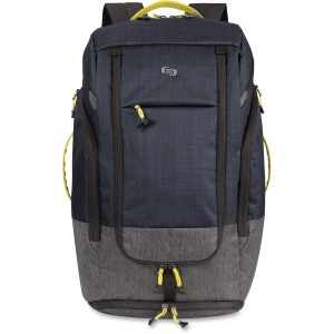 "Solo Velocity Carrying Case (Backpack) for 17.3"" Notebook - Blue Gray"