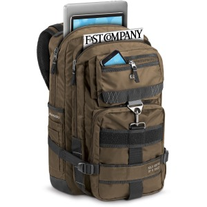 "Solo Black Ops Carrying Case (Backpack) for 17.3"" Notebook - Bronze"
