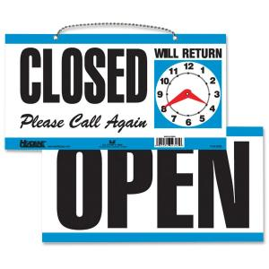 HeadLine Open/Closed 2-sided Sign