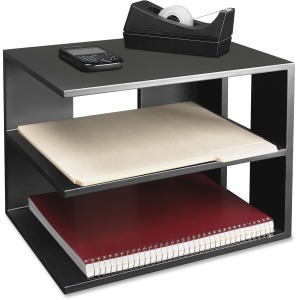 Victor 1120-5 Midnight Black Corner Shelf