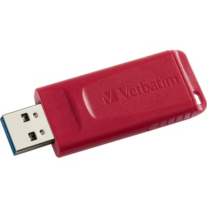 Verbatim 64GB Store 'n' Go USB Flash Drive - Red