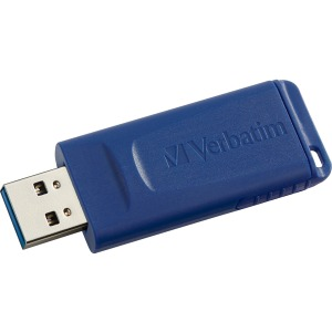 Verbatim 64GB USB Flash Drive - Blue