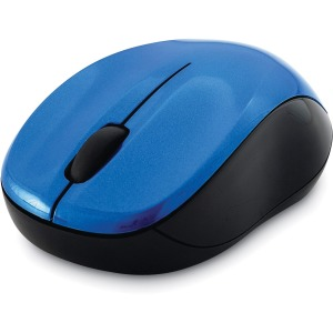 Verbatim Silent Wireless Blue LED Mouse - Blue