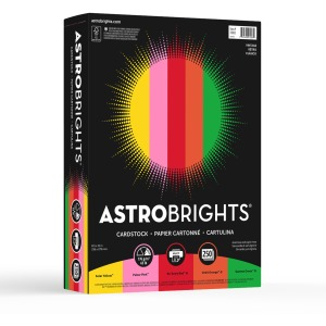 "Astrobrights Colored Cardstock - ""Vintage"" 5-Color Assortment"