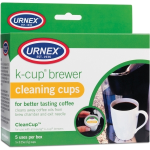 Weiman Urnex K-Cup Brewer Cleaning Cups