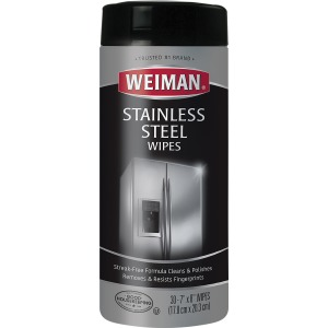 Weiman Products Stainless Steel Wipes