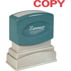 Xstamper COPY Title Stamps