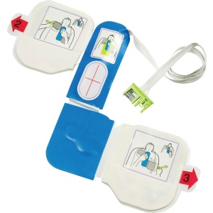 ZOLL Medical AED Plus Defibrillator 1-piece Electrode Pad