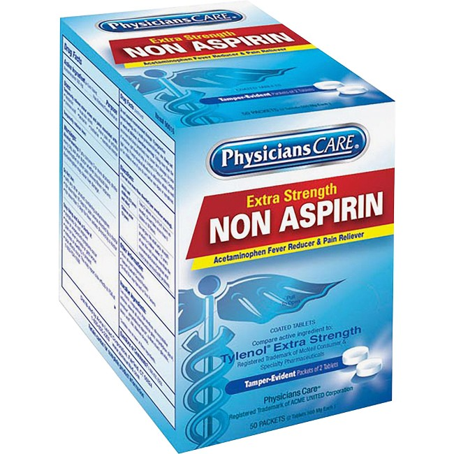 PhysiciansCare Single Dose Non-Aspirin Pain Reliever