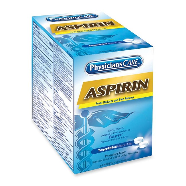 PhysiciansCare Physician's Care Aspirin Single Packets