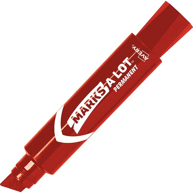 Avery® Jumbo Desk-style Marks A Lot Permanent Markers
