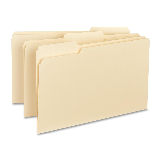 Business Source Manila Interior File Folders