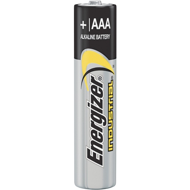 Energizer Industrial Alkaline AAA Batteries, 24 pack