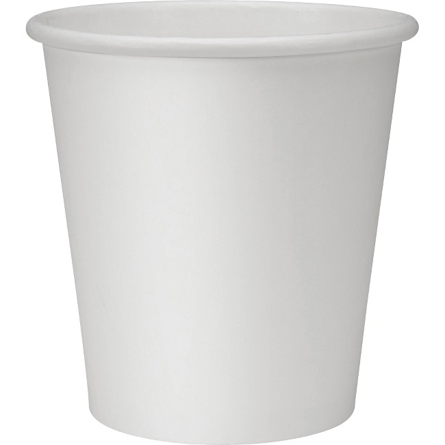 Genuine Joe Lined Disposable Hot Cups