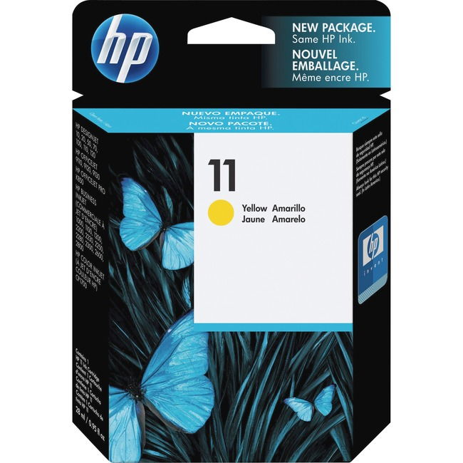 HP 11 (C4838A) Original Ink Cartridge - Single Pack