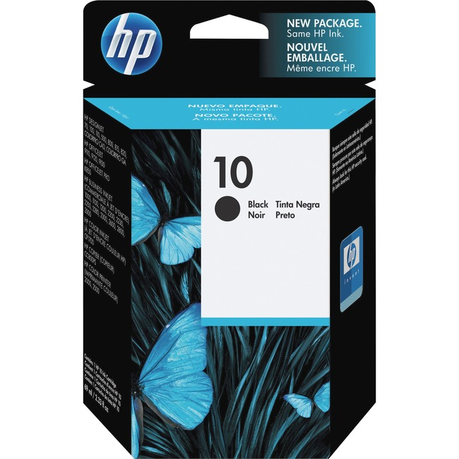 HP 10 (C4844A) Original Ink Cartridge - Single Pack
