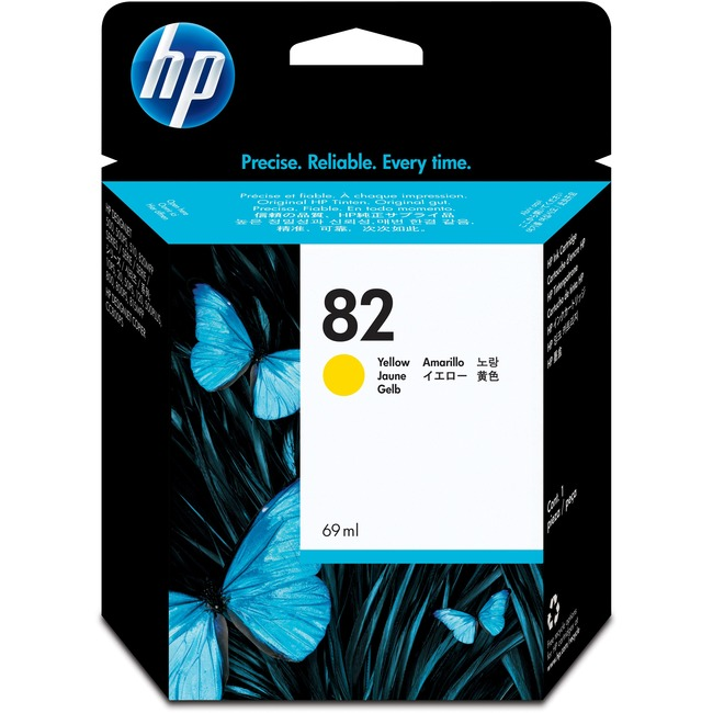 HP 82 (C4913A) Original Ink Cartridge - Single Pack