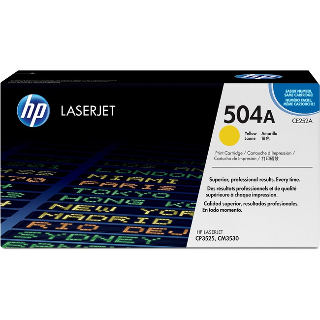 HP 504A (CE252A) Original Toner Cartridge - Single Pack