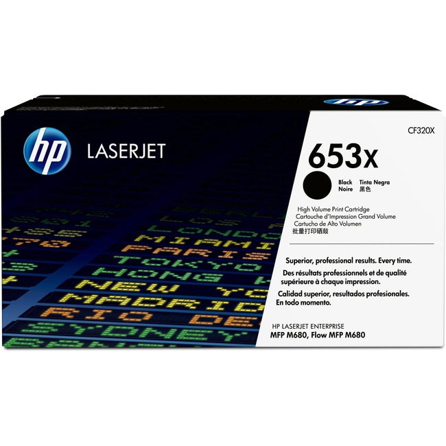 HP 653X (CF320X) Original Toner Cartridge - Single Pack
