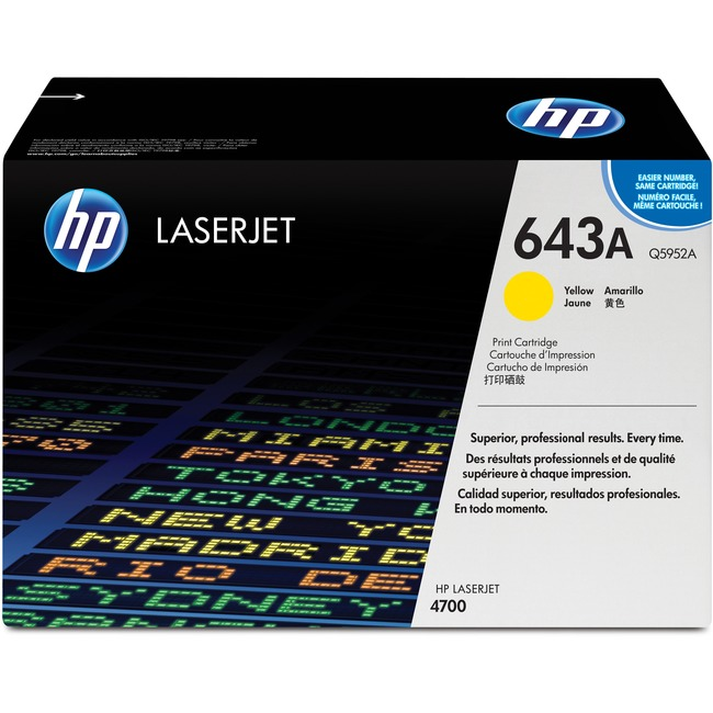 HP 643A (Q5952A) Original Toner Cartridge - Single Pack