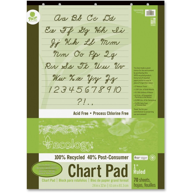 Ecology Recycled Chart Pad