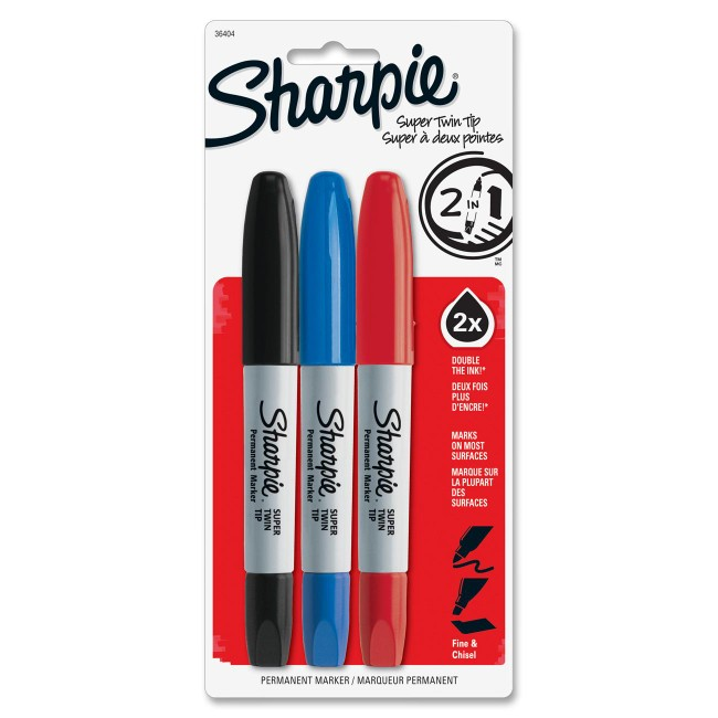 Sharpie Super Twin Tip Markers
