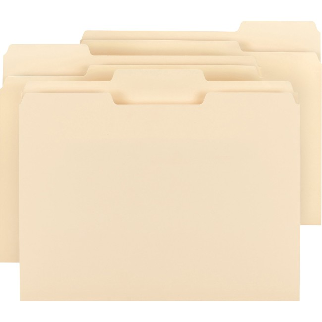 Smead 1/3 Tab Cut Letter Recycled Top Tab File Folder