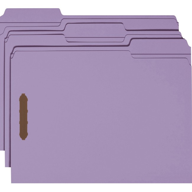 Smead Fastener File Folders
