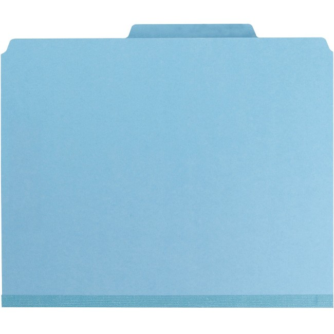 Smead Colored Pressboard Classification Folders with SafeSHIELD® Coated Fastener Technology