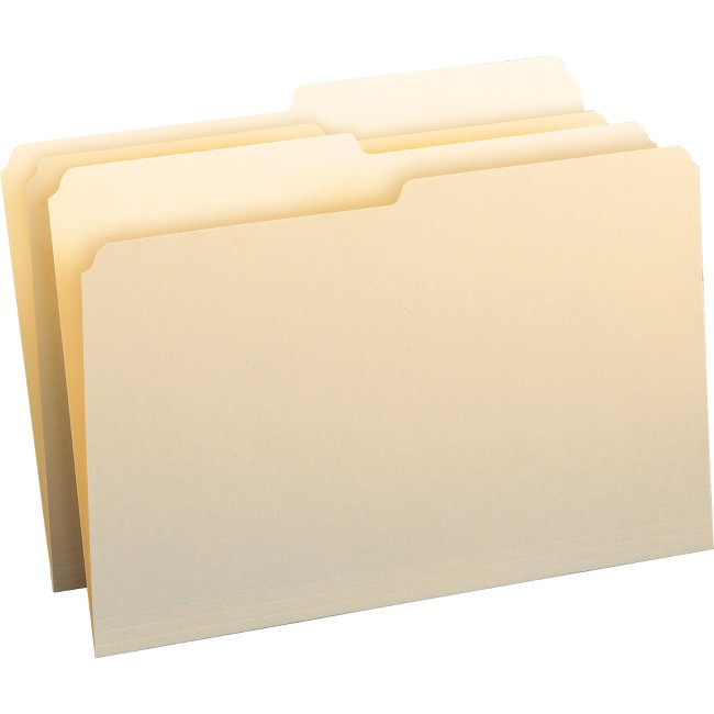 Smead File Folders with Single-Ply Tab
