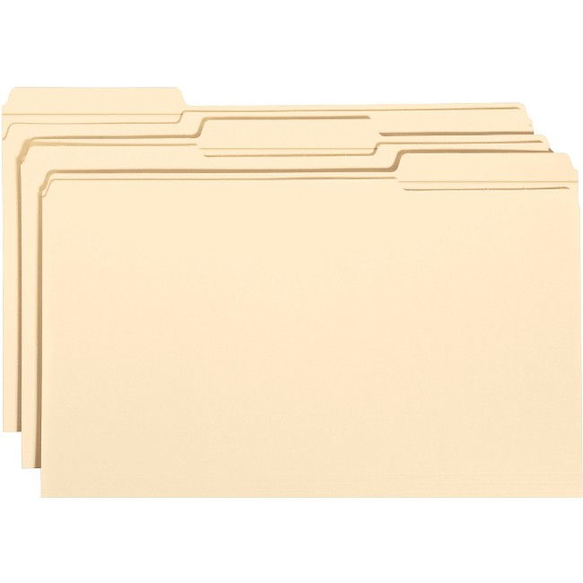 Smead File Folders with Reinforced Tab