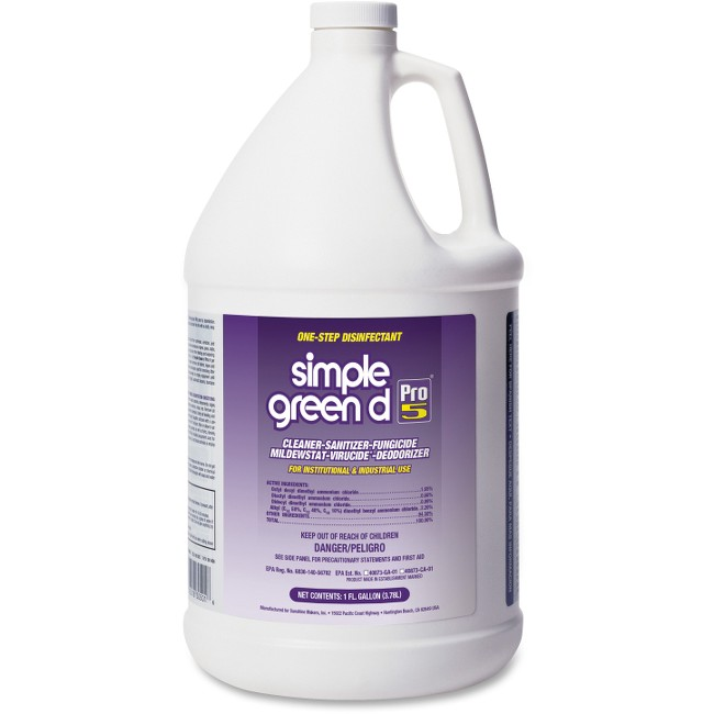 Simple Green D Pro 5 One-Step Disinfectant