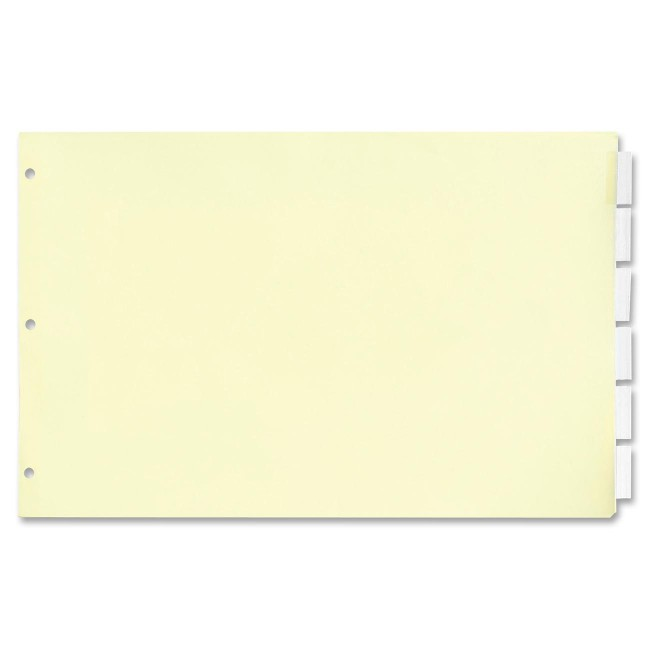 EasyFit 5-Tab Legal Size Index Dividers