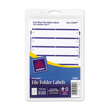 Filing Labels & Systems