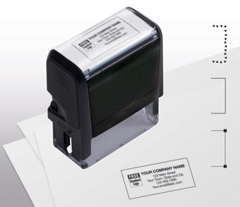 Name & Address Stamp, Medium - Self-Inking