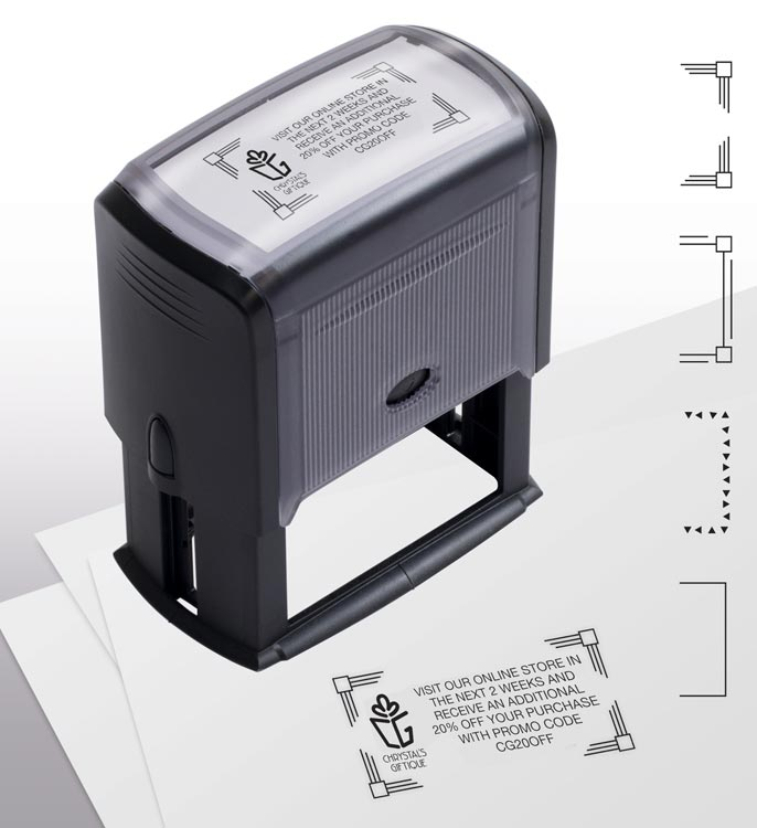Coupon Stamp - Self Inking