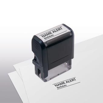 Name Alert Stamp - Self-Inking
