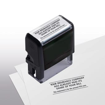 Your Insurance Company Has Already Paid  Stamp - Self-Inking